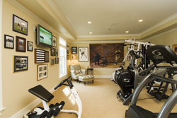 Luxurious Exercise Room